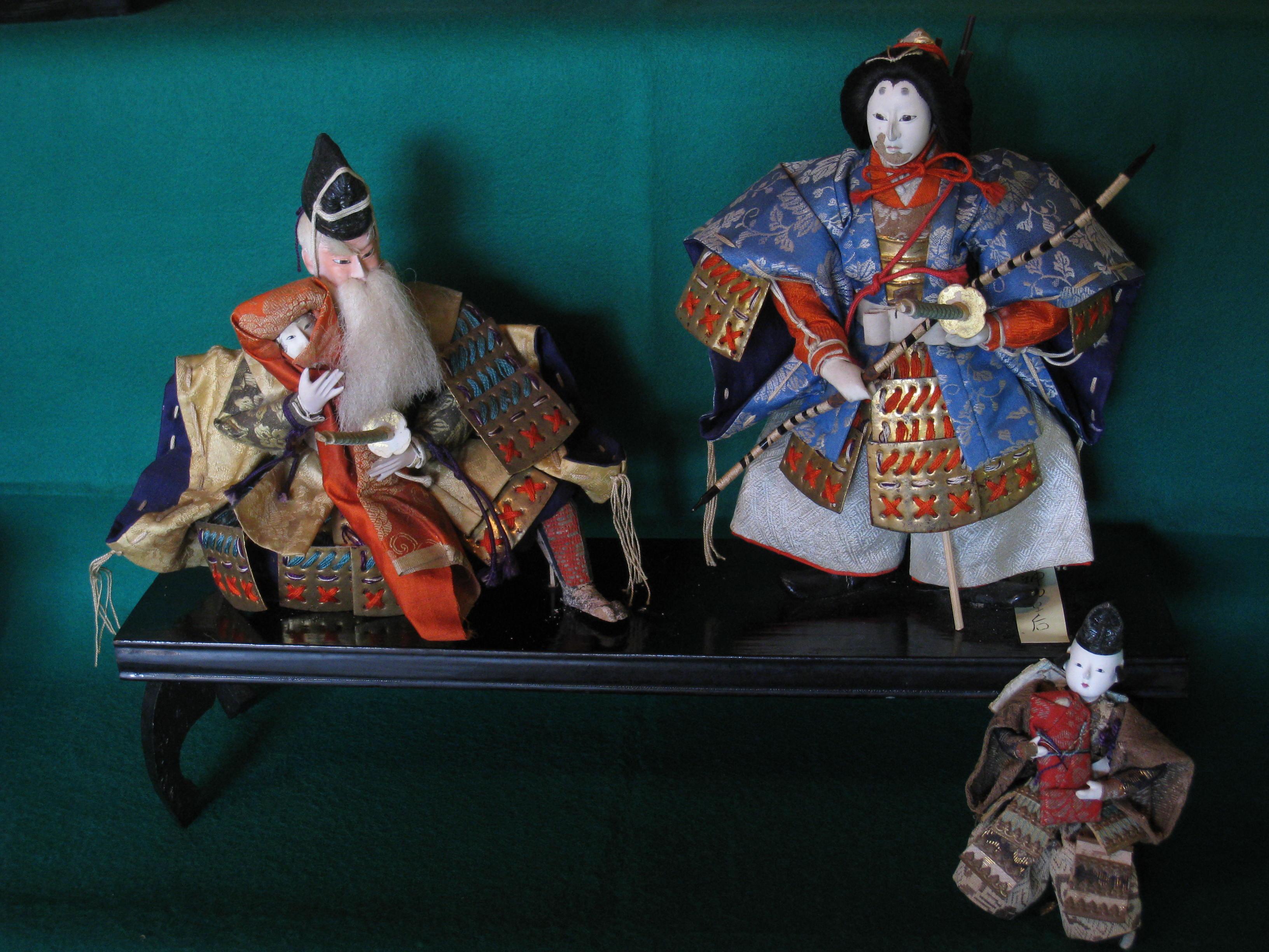 佐藤家の五月人形